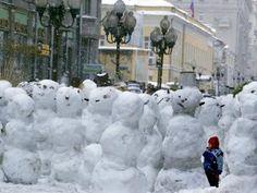 Snowman Flash Mob