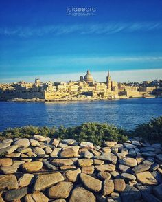Malta's Capital City #Valletta as seen from Tigne Point in #Sliema! #Enjoy the…