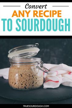 Want to Convert your Recipe to Sourdough? – True Sourdough – Sourdough Baking at Home Sourdough Starter Discard Recipe, Yeast Starter, Bread Starter, Sourdough Cinnamon Rolls, Sourdough Recipes, Sourdough Bread, Cornbread Recipes, Jiffy Cornbread, Yeast Bread