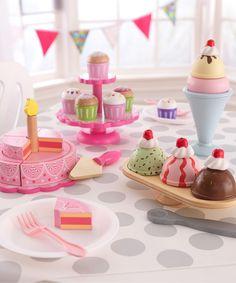 KidKraft Pink Tiered Celebration Cake Toy | zulily