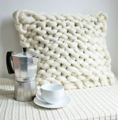 Check out Knit Pillow, Knit Cushion, Ivory Pillow, Ivory Cushion, Extreme Knitting, Knit Home Decor, Chunky Merino Cushion, Merino Knit Pillow, Made with lots of love! ❤️  https://www.etsy.com/listing/500392260/knit-pillow-knit-cushion-ivory-pillow?utm_campaign=crowdfire&utm_content=crowdfire&utm_medium=social&utm_source=pinterest