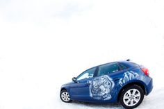 #AUDI #whitetiger #airbrushing #artoncar #art #paintingoncar #car #uniquecar