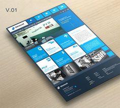 Responsive metro redesign #responsive #webdesign #inspiration