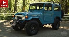 Trusty Old Toyota FJ40 Is This Man's Dream Car