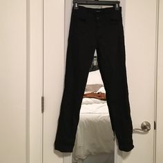 J Brand black skinnies Super soft denim- only worn once! J Brand Pants Straight Leg