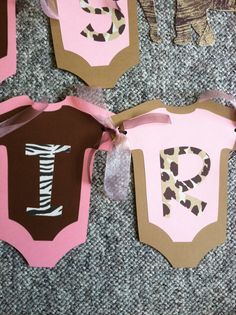 Animal Print Baby Shower Banner by CandiceB26 on Etsy, $20.00
