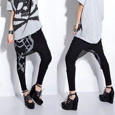 Free-Shipping-Street-Fashion-Black-Geometry-Pattern-Sheer-Mesh-Elastic-Harem-Pants-Hip-Hop-Pants-876213.jpg_350x350.jpg 350×350 pixels
