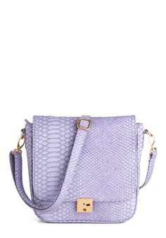 I Lilac It Like That Bag, #ModCloth ($54.99) I shall always have purple running through my veins...and in my closet.