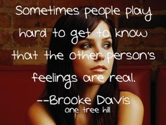one tree hill quotes | Tumblr: I honestly try so hard to do that....but sometimes I just can't...