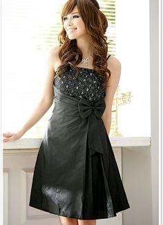 Nobile Wedding Party Black Dresses Wholesale  Item Code:  JK8200+Black  Price:  US$11.32  Shipping Weight:  0.38kg