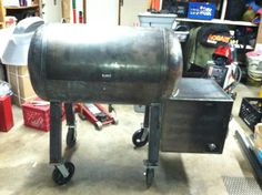 80 gallon smoker build
