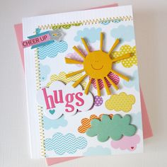 Hugs by Kathy Martin using Bella Blvd's Sunshine & Happiness Collection
