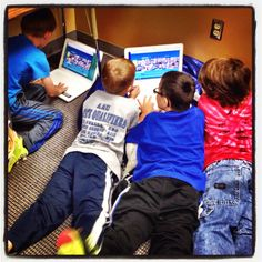 """The Library Voice: Celebrating """"Poem In Your Pocket"""" With Our First Graders And FlipGrid"""