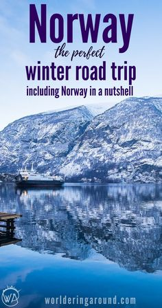Discover stunning Norway in winter! The perfect winter road trip in Norway, including famous Norway in a nutshell route. Top of the travel bucket list and a must see in Norway. Oslo Norway winter travel, trips from Oslo, Norway fjords, top things to  do in Norway, Flam, Norway travel, Norway on a budget | Worldering around #norway #norwayinthenutshell #oslo #winter #fjords