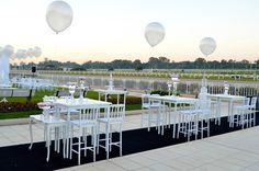 decoración con globos para boda - por Ramiro Arzuaga