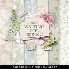 New Freebies Kit - Waiting for Spring:Far Far Hill - Free database of digital illustrations and papers