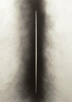Valentin Emil Lubberger - Ohne Titel (Untitled) (Rußzeichnung /Sootdrawing 51), 2013 Ruß auf Papier (Soot on paper), A3
