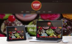 Novo website   Yerp Bomboniere by Rivaldo da Rosa, via Behance