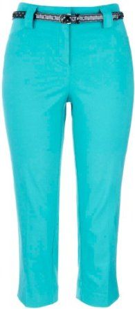 52aaa743f30fc 89th   Madison Belted Crop Pants LIQUID TURQUOISE 6 89th   Madison.  33.60