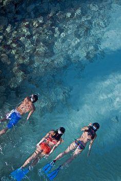 Blue Snorkling-snorkling on the Bule waters of Shangri-La Resort Boracay Philippines by Bernile Led via flicr