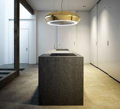 High-Impact Kitchen Ventilators - The Pando Ceramic SkyLoop Kitchen Ventilation System is Minimal (GALLERY)