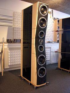 High End Audio Equipment For Sale Pro Audio Speakers, High End Speakers, High End Hifi, Audiophile Speakers, Home Speakers, High End Audio, Hifi Audio, Audio Design, Speaker Design
