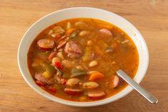 Kielbasa, The Fam, Chana Masala, Cheeseburger Chowder, Food And Drink, Ethnic Recipes, Omelet, Wraps, Couple