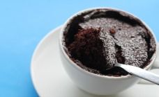 Microwave Brownie Recipe - Kids cooking - works well, great with custard Brownie Recipes, Cake Recipes, Snack Recipes, Dessert Recipes, Snacks, Microwave Brownie, Kids Food Crafts, Real Food Recipes, Cooking Recipes