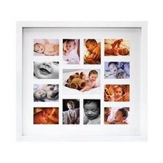 White Baby Collage Frame (For daddy from Chloe)