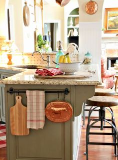 French Country Style Kitchen Decorating Ideas (20)