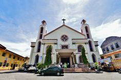 Masbate Church Our Lady, Volcano, Beautiful Beaches, Notre Dame, Mansions, House Styles, Building, Places, Travel