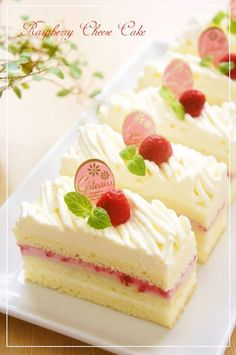 Great recipe for Raspberry Cheese Mont Blanc Shortcake. This is my third Mont Blanc Shortcake recipe. When I want to make a small, savory shortcake using a mont blanc piping tip and lots of cream, I… Cupcakes, Cupcake Cakes, Baby Cakes, Cupcake Ideas, Just Desserts, Dessert Recipes, Gourmet Desserts, Plated Desserts, Mini Cake Recipes