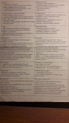 School S, Back To School, Polish Language, College Checklist, School Organization, Finals, Literature, Study, Science