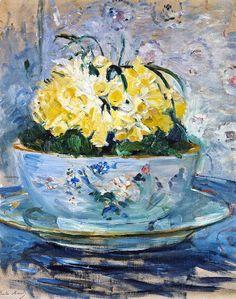 Berthe Morisot Daffodils (1885)