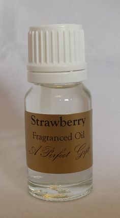 Strawberry Fragrance Burning Oil 10ml by APerfectGiftUK on Etsy