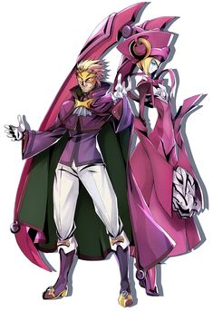 Relius from BlazBlue: Central Fiction