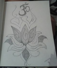 #flordelotus #om #desenho