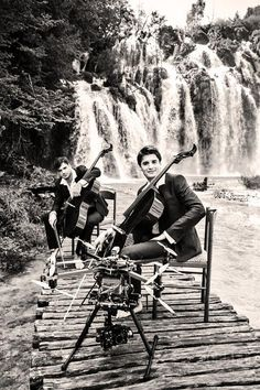 2Cellos_ Promo Shot for _I Will Wait video_ https://www.youtube.com/user/2CELLOSlive_