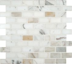 Order Cabot Marble Mosaic - Carrara Marble Series Calacatta Gold / / Polished, delivered right to your door. Calacatta Gold Marble, Marble Subway Tiles, Marble Mosaic, Stone Mosaic, Mosaic Tiles, Wall Tiles, Mosaic Backsplash, Mosaics, Calcutta Marble