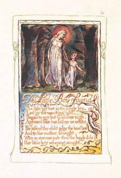 William Blake Songs of Innocence and Experience, Little Boy Found, Tate Publishing
