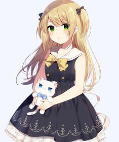 Kawaii Girl Anime Render by Nanavichan on DeviantArt Anime Oc, Chibi Anime, Chica Anime Manga, Anime Girl Cute, Beautiful Anime Girl, Anime Art Girl, Anime Girls, Beautiful Eyes, Manga Girl