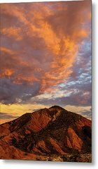 Sunset Color Metal Print by James Marvin Phelps