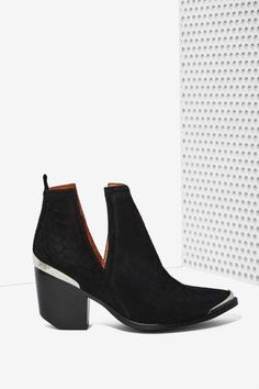 Jeffrey Campbell Cromwell Suede Bootie - Shoes
