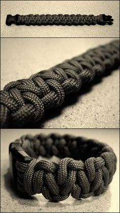 Stormdrane's Blog: Cobbled Solomon Bar Paracord Bracelet...