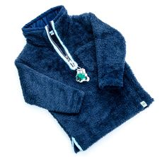 Keep your little Tractor Ted fans warm with this supersoft fleece jumper, NEW from Tractor Ted!