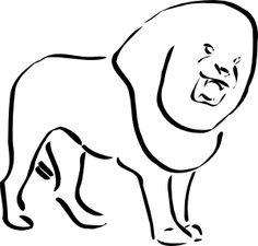 Lion 10 clip art - vector clip art online, royalty free & public domain