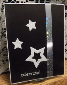 The Stars will Celebrate by Shoe Girl - Cards and Paper Crafts at Splitcoaststampers