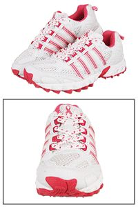 Pink Ribbon Cross-Training Shoes at The Animal Rescue Site