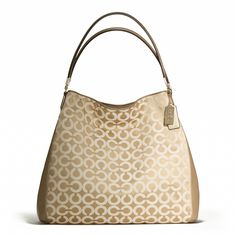 Coach :: MADISON PHOEBE SHOULDER BAG IN OP ART SATEEN FABRIC