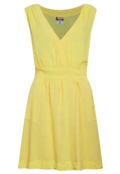 Vestido Mercatto Transpasse Amarelo
